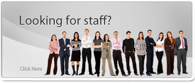 Looking for staff?